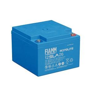 Fiamm 12SLA26 12V 24Ah Blei-Akku / AGM Batterie