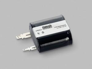 NiMh Notbeleuchtung Akku 2,4V / 2500mAh passend für Zumtobel Accu 04797088