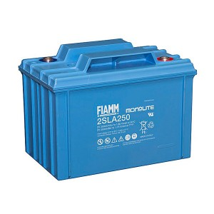 Fiamm 2SLA250 2V 250Ah Blei-Akku / AGM Batterie