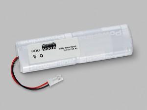 Alkaline Batteriepack 6,0V AA L2x2 mit Kabel und Stecker