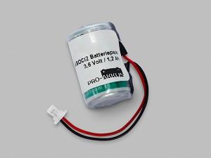 Lithium Batteriepack 3,6V 1/2 AA mit Kabel und Stecker
