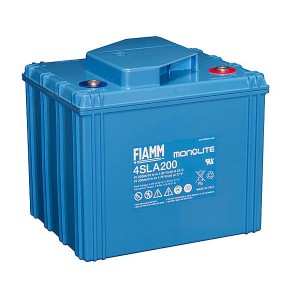 Fiamm 4SLA200 4V 200Ah Blei-Akku / AGM Batterie
