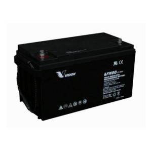 Vision 6FM80-X 12V 80Ah Blei-Akku / AGM Batterie Longlife
