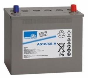 Sonnenschein A512/55A (12V / 55Ah) Gelbatterie