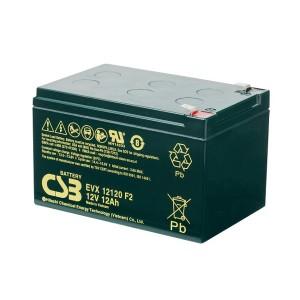 CSB EVX12120 12V 12Ah Blei-Akku / AGM Batterie Zyklenfest