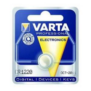 VARTA CR1220 Lithium Knopfzelle 3,0V 35mAh 1er-Blister