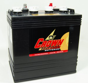 Crown CR165 8V 165Ah Deep-Cycle Bleiakku