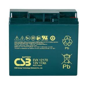 CSB EVX12170 12V 17Ah Blei-Akku / AGM Batterie Zyklenfest