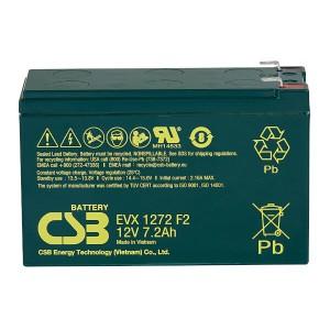 CSB EVX1272F2 12V 7,2Ah Blei-Akku / AGM Batterie Zyklentyp