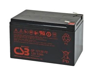 CSB GP12120F2 12V 12Ah Blei-Akku / AGM Batterie VdS
