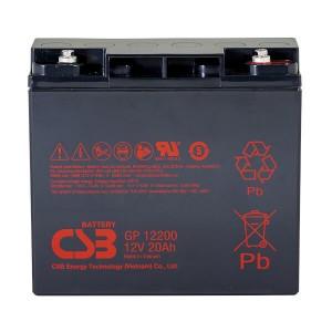 CSB GP12200 - 12V / 20Ah AGM Akku / Batterie