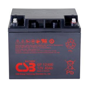 CSB GP12400 12V 40Ah Blei-Akku / AGM Batterie