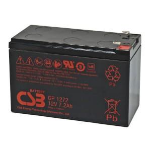 CSB GP1272 12V 7,2Ah Blei-Akku / AGM Batterie VdS
