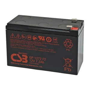 CSB GP1272F2 12V 7,2Ah Blei-Akku / AGM Batterie VdS
