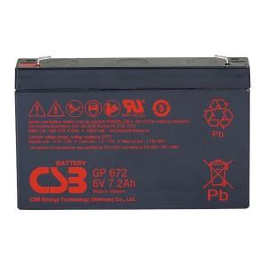 CSB GP672 - 6V / 7,2Ah AGM Akku / Batterie