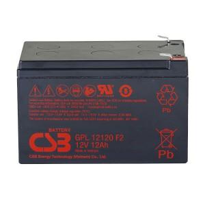 CSB GPL12120F2 12V 12Ah Blei-Akku / AGM Batterie Longlife