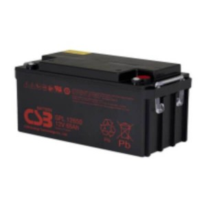 CSB GPL12650 12V 65Ah Blei-Akku / AGM Batterie Longlife