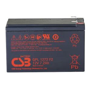 CSB GPL1272F2 12V 7,2Ah Blei-Akku / AGM Batterie Longlife