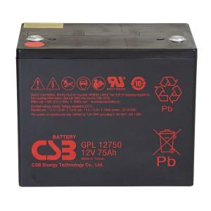CSB GPL12750 12V 75Ah Blei-Akku / AGM Batterie Longlife