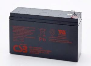 CSB HR1224WF2F1 12V 24W Blei-Akku / AGM Batterie Hochstrom