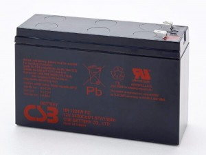 CSB HR1224WF2 12V 24W Blei-Akku / AGM Batterie Hochstrom