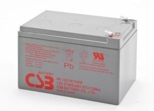 CSB HR1251WF2 12V 51W Blei-Akku / AGM Batterie Hochstrom