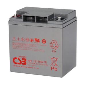 CSB HRL12110WFR 12V 110W AGM Batterie Hochstrom Longlife