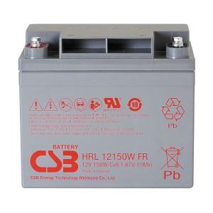 CSB HRL12150WFR 12V 150W AGM Batterie Hochstrom Longlife