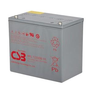 CSB HRL12200WFR 12V 200W AGM Batterie Hochstrom Longlife