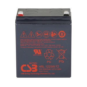 CSB HRL1225WF2 12V 25W AGM Batterie Hochstrom Longlife
