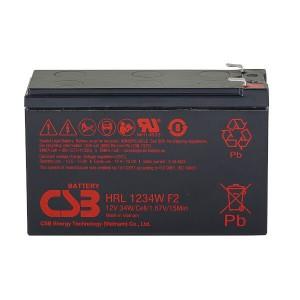 CSB HRL1234WF2 12V 34W AGM Batterie Hochstrom Longlife