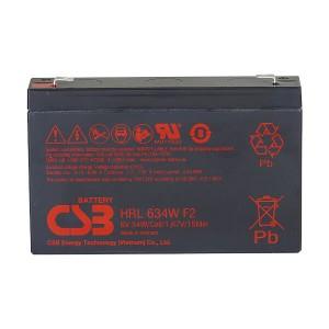 CSB HRL634WF2 6V 34W Blei-Akku / AGM Batterie Hochstrom Longlife
