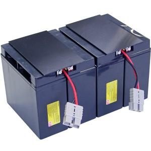 USV Ersatzakkuset für APC-RBC11 vormontiert mit Kabel und Stecker Industrieausrüsterqualität
