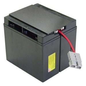 USV Ersatzakkuset für APC-RBC7 vormontiert mit Kabel und Stecker Industrieausrüsterqualität