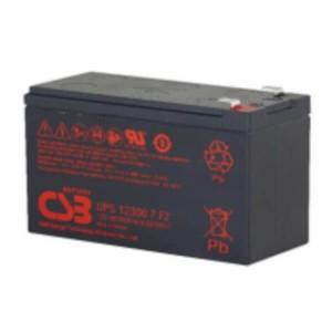 CSB UPS123607F2 12V 60W AGM Batterie Hochstromfest