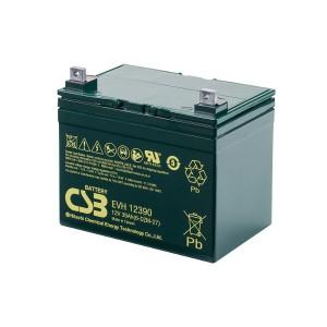 CSB EVH12390 12V 39Ah Blei-Akku / AGM Batterie Zyklenfest