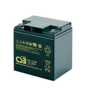 CSB EVX12300 12V 30Ah Blei-Akku / AGM Batterie Zyklenfest