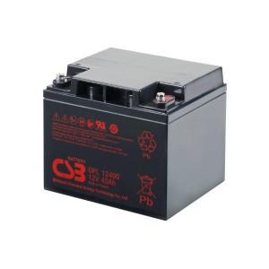 CSB GPL12400 12V 40Ah Blei-Akku / AGM Batterie Longlife