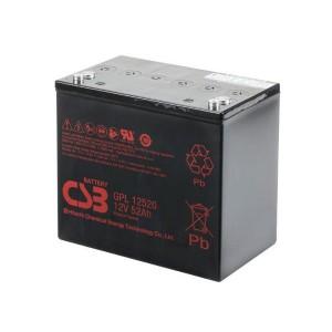 CSB GPL12520 12V 52Ah Blei-Akku / AGM Batterie