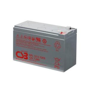 CSB GPL1272 12V 7,2Ah Blei-Akku / AGM Batterie Longlife Faston 187