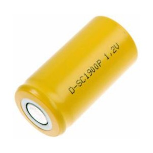 Mexcel Ni-Cd Akku D-SC1900P - 1,2V 1900mAh Hochtemperatur