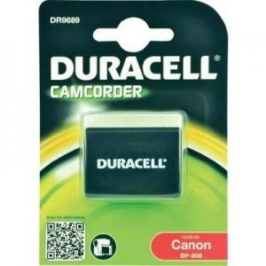 Duracell Digitalkamera und Camcorder Akku DR9689 kompatibel zu Canon BP-808