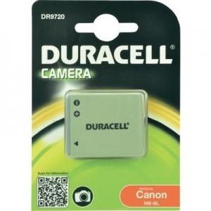 Duracell Digitalkamera und Camcorder Akku DR9720 kompatibel zu Canon NB-6L