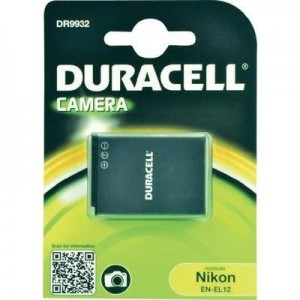Duracell Digitalkamera und Camcorder Akku DR9932 kompatibel zu Nikon EN-EL12