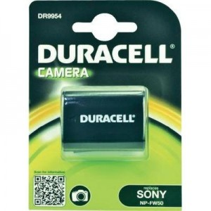 Duracell Digitalkamera und Camcorder Akku DR9954 passend für Sony NP-FW50