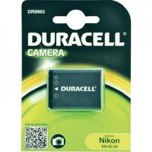 Duracell Digitalkamera und Camcorder Akku DR9963 kompatibel zu Nikon EN-EL19
