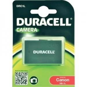 Duracell Digitalkamera und Camcorder Akku DRC1L kompatibel zu Canon NB-1L