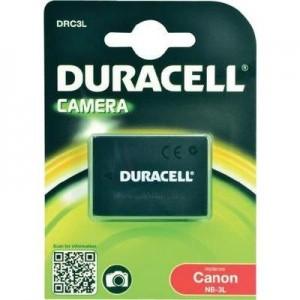 Duracell Digitalkamera und Camcorder Akku DRC3L kompatibel zu Canon NB-3L