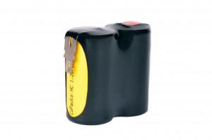 Akkupack Notlicht Notbeleuchtung 2,4V / 1500mAh (1,5Ah) Reihe mit Faston Anschlüssen