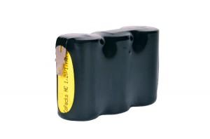 Akkupack Notlicht Notbeleuchtung 3,6V / 1500mAh (1,5Ah) Reihe mit Faston Anschlüssen